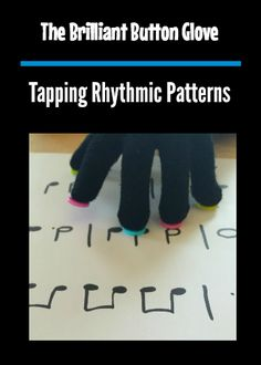 """The Button Glove is the Piano Teacher's """"secret weapon"""" to help young piano students find a naturally curved hand shape. Here's how to make and use one!"""