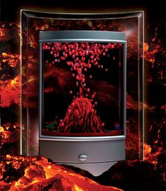 Nature's Fire Volcano by Fascinations - This would mke such a nice sensory toy.
