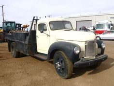 1949 International KB-5 Flatbed Truck