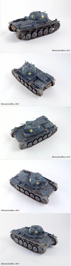 Pz.Kpfw.II Ausf.c 1/35 Scale Model
