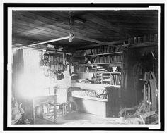 [Living quarters at Fort Conger Lake, 1881]