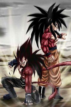 Vegita & Goku SSJ4