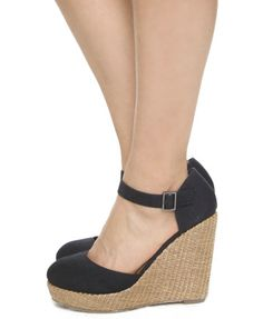 close-toe wedges. i've been looking for some of these.