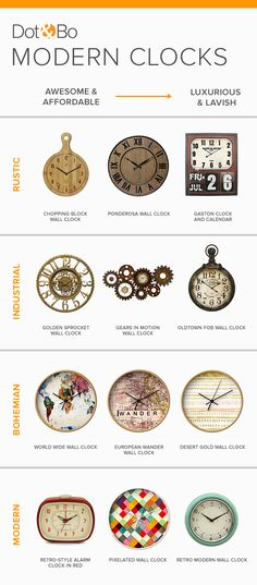 There's always something new to discover. Shop clocks and more at Dot & Bo and explore our hand-picked, curated furniture collections. Sign Up and Shop Now at dotandbo.com!