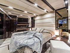 S/Y Gigreca - a Silent 76 sailing yacht - huge master stateroom