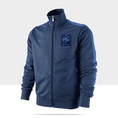 French Football Federation Authentic N98 Men's Soccer Track Jacket