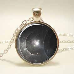 Galaxy Nebula Necklace Cosmos Series Pendant 1008S1IN by rainnua, $14.45