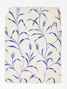 Sidewall sample designed by Paul Poiret, Dagobert Peche. 1928.