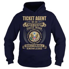 Ticket Agent - We Do Precision Guess Work - Job Shirt #gift #ideas #Popular #Everything #Videos #Shop #Animals #pets #Architecture #Art #Cars #motorcycles #Celebrities #DIY #crafts #Design #Education #Entertainment #Food #drink #Gardening #Geek #Hair #beauty #Health #fitness #History #Holidays #events #Home decor #Humor #Illustrations #posters #Kids #parenting #Men #Outdoors #Photography #Products #Quotes #Science #nature #Sports #Tattoos #Technology #Travel #Weddings #Women