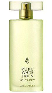 Pure White Linen Light Breeze Estée Lauder for women... It opens with notes of bergamot, orange, white grapefruit, and kumquat. Middle notes introduce yellow freesia, osmanthus, lime blossom, and rose petals. Base notes round the composition with teak wood accords and mimosa flowers honey.