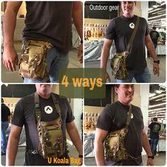Comfortable practical ways to use U Koala Bag-outdoor gear, survival gear.