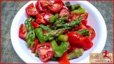 Strong and Beyond: Asparagus Tomato Salad