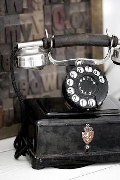 *vintage telephone