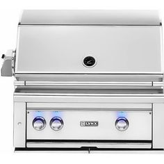 1a33f8a1dfc Lynx Professional 30-Inch Built-In All Infrared Trident Natural Gas Grill  With Rotisserie - L30ATR-NG