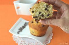 » Muffin con gocce di cioccolato Ricette di Misya - Ricetta Muffin con gocce di cioccolato di Misya