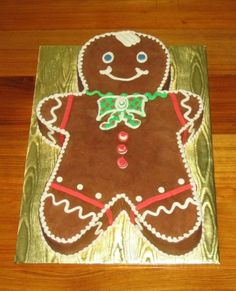 This was carved from a 1/2 sheet cake and iced...