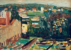 """Wassily Kandinsky - """"Sevres"""", 1901"""