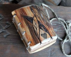 wood book covers