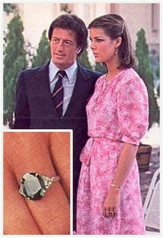 The Royal Order of Sartorial Splendor: Flashback Friday: Mediterranean Engagement Rings
