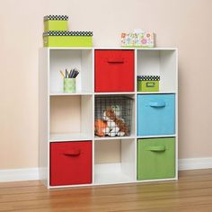 Great storage for dorm rooms. Pick your colors and assemble!