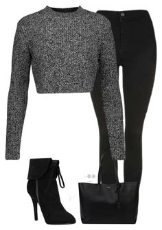 """Untitled #669"" by bellax0x on Polyvore featuring Topshop, Carven, Yves Saint Laurent and Masquerade"
