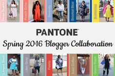 Pantone 2016 Blogger Collaboration