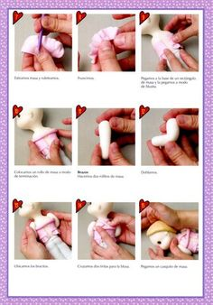 STEP BY STEP DOLL ROMANTICA PART N°2