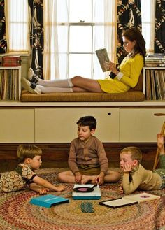 I need more Wes Anderson aesthetic in my life... like, if he could just come and design my life, that would be super