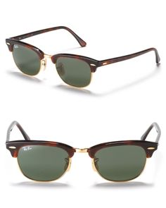 Ray-Ban has reinvented their classic clubmaster sunglasses with a softer, lower front shape for better wearability. Clubmaster Sunglasses, Tortoise, Ray Bans, Jewelry Accessories, Unisex, Classic, Shape, Shopping, Fit
