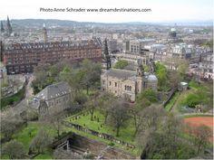 Prince Street Gardens, Edinburgh Scotland