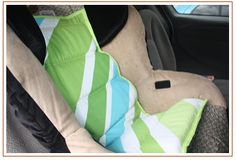 How To Make a Car Seat Cooler For Your Baby - great for those long rides in summer heat!