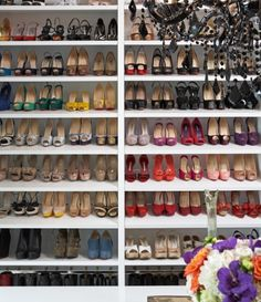 this shoe display is perfect!