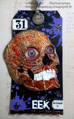 yaya scrap & more: Tim Holtz 12 TAGS OF 2015 - October #timholtz #ranger…