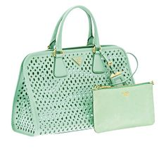 mint green prada