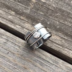 Gold Jewelry Sterling Silver Ring Sterling Silver Diamond Ring Handmade By Sterling Silver Diamond Rings, Silver Diamonds, Sterling Silver Bracelets, Silver Earrings, 925 Silver, Silver Rings Handmade, Silver Bangles, Black Gold Jewelry, Silver Jewellery