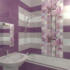 Do you want to have a modern small bathroom? Here we present the 45 Modern Small Bathroom Decor Ideas. Modern Bathrooms Interior, Modern Small Bathrooms, Beautiful Bathrooms, Bathroom Tile Designs, Modern Bathroom Design, Bathroom Interior Design, Bathroom Ideas, Wall Decals For Bedroom, Kitchen Wall Colors