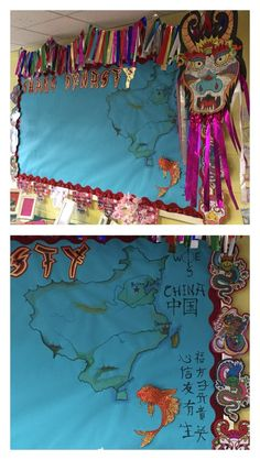 Shang Dynasty Chinese primary school display KS2