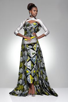From the archive: a party look from Vlisco's 2012 'Parade of Charm' collection |