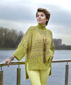 "Sweater: ""Dandelion Jam"": – buy a … - Knitting Cardigan Loom Knitting Projects, Knitting Patterns, Top Bustiê, Crochet Baby, Knit Crochet, Learn How To Knit, Knitting For Beginners, Knit Fashion, Pulls"