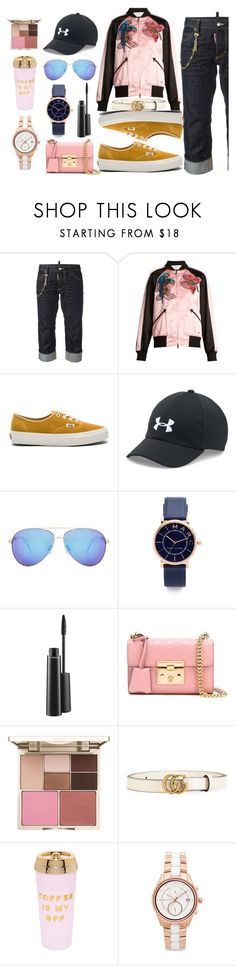 """""""wake-up fashion"""" by gadinarmada-1 ❤ liked on Polyvore featuring Dsquared2, Valentino, Vans, Under Armour, Seafolly, Marc Jacobs, MAC Cosmetics, Gucci, Stila and ban.do"""