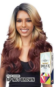 Equal Delux Misty Wig Synthetic Hair, Lace Front Wigs, Color Show, Wig Hairstyles, Equality, Extensions, Curls, Hair Care, Hair Beauty