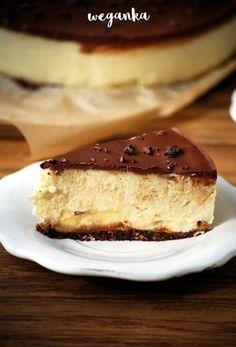 Kolejna wariacja na temat ciast z kaszy jaglanej, zwanych też jagielnikami bądź bezsernikami lub wprost - wegańskimi sernikami. Jestem ich ... Vegan Sweets, Vegan Desserts, Healthy Desserts, Delicious Desserts, Yummy Food, Healthy Cake, Vegan Cake, Sweet Recipes, Cake Recipes