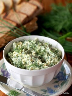 Lunch Recipes, Cooking Recipes, Healthy Recipes, Appetizer Salads, Appetizer Recipes, Dips, Polish Recipes, Russian Recipes, Appetisers