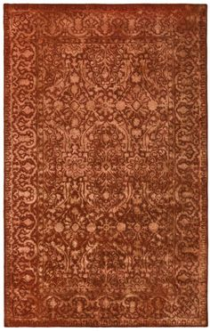 Classic Style Home: Silk Road Traditional Hand Tufted Rug - XVFS-E312RKS