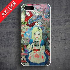 """Alice Wonderland #1"" Case for iPhone 4/4S, 5/5S, 6. Worldwide shipping. Store's url http://vk.com/market-71763847"