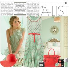 spring/summer so cute..--Untitled #698, created by littlelaura on Polyvore