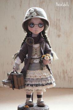 Шарлотта. Текстильная интерьерная кукла.                                                                       Цена указана без учета…