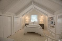 An all white beach themed bedroom. Napa, CA Coldwell Banker Brokers of the Valle