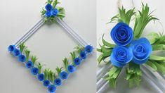 Paper wall decor ideas life hacks videos paper flower wall hanging wall decoration ideas how to make easy paper flower wall hanging loop leading craft diy Paper Wall Hanging, Paper Wall Decor, Wall Hanging Crafts, Hanging Flower Wall, Flower Wall Decor, Diy Wall Decor, Hanging Paper Flowers, Diy Hanging, Wall Hangings
