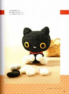 FREE Kitty Cat Amigurumi Crochet Pattern and Tutorial (click on right arrow to…